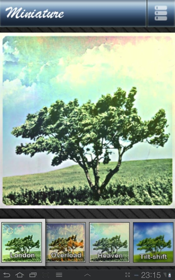 Miniature - Photo Effect Lab. - screenshot