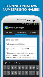 Blocked & Unknown Call Helper- screenshot thumbnail