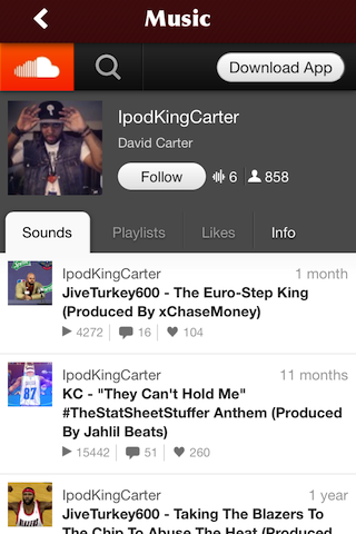 IpodKingCarter- screenshot