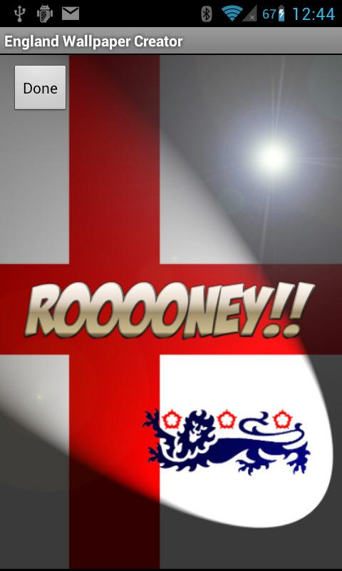 England Flag Wallpaper - screenshot