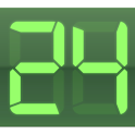 Digital Clock Green Pro logo