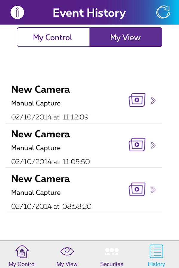 Proximus Home Control - screenshot
