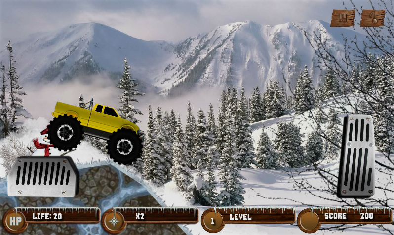 Arctic Monster Truck - screenshot