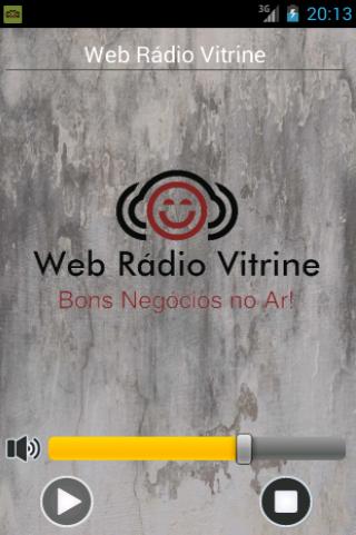 Web Rádio Vitrine