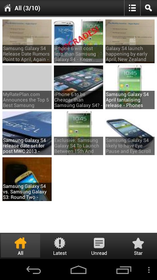 Samsung Galaxy S4 News - screenshot