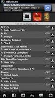 Screenshot of Bachata Radio 24/7