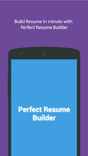 Perfect Resume Builder