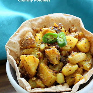 Crunchy Spicy Potatoes.