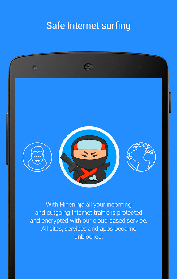 Vpnster - VPN for Android- screenshot