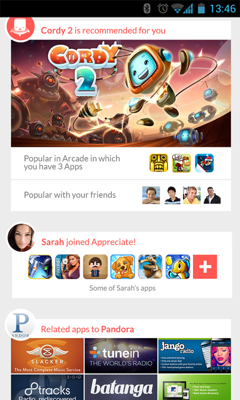 Appreciate: Android App Market - screenshot