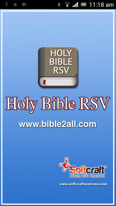 Holy Bible RSV Offline- screenshot
