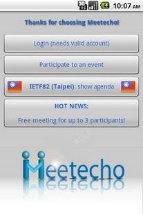 Meetecho- screenshot thumbnail