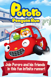 Pororo Penguin Run Screenshot 1