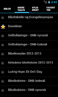 DataBibelen Bible in norwegian- screenshot thumbnail