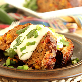 Southwestern Turkey Meatloaf.