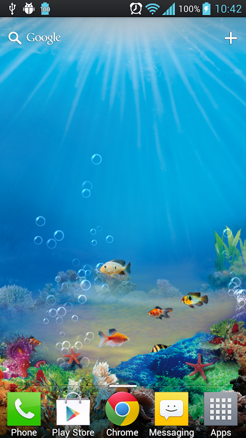 aquarium live wallpaper free   android apps on google play