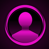GO SMS Pink Platinum Theme