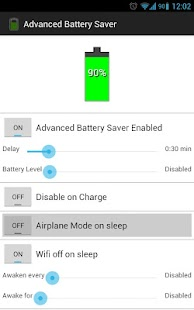 Advanced Battery Saver - screenshot thumbnail
