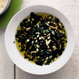 Parsley and Pine Nut Salsa.