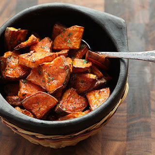 The Best Roasted Sweet Potatoes.
