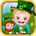 Baby Hazel St Patricks Day icon