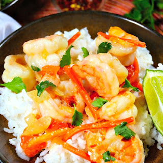 Shrimp in Coconut Sauce