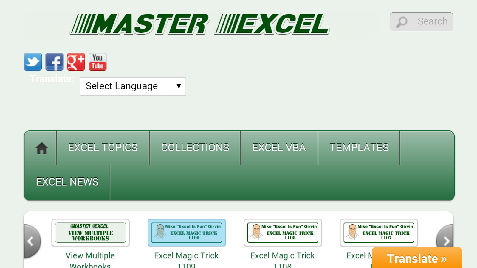 Master Excel- screenshot