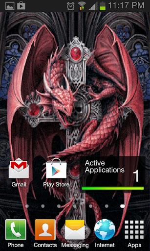 Dragon Sword Live Wallpaper