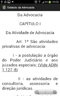 Estatuto da Advocacia - OAB - screenshot thumbnail