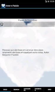 Frases de Amor e Paixão - screenshot thumbnail