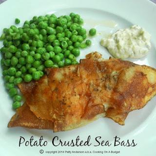 Potato Crusted Sea Bass