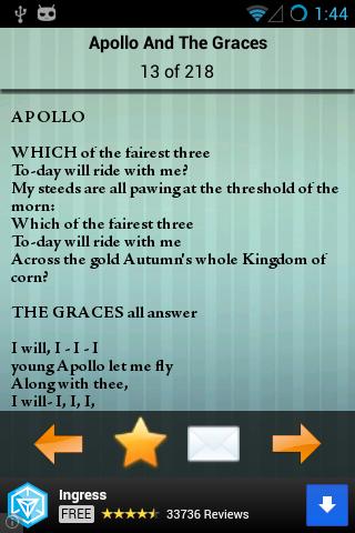 【免費書籍App】John Keats Poems-APP點子