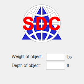 Scuba Lift Bag Calculator