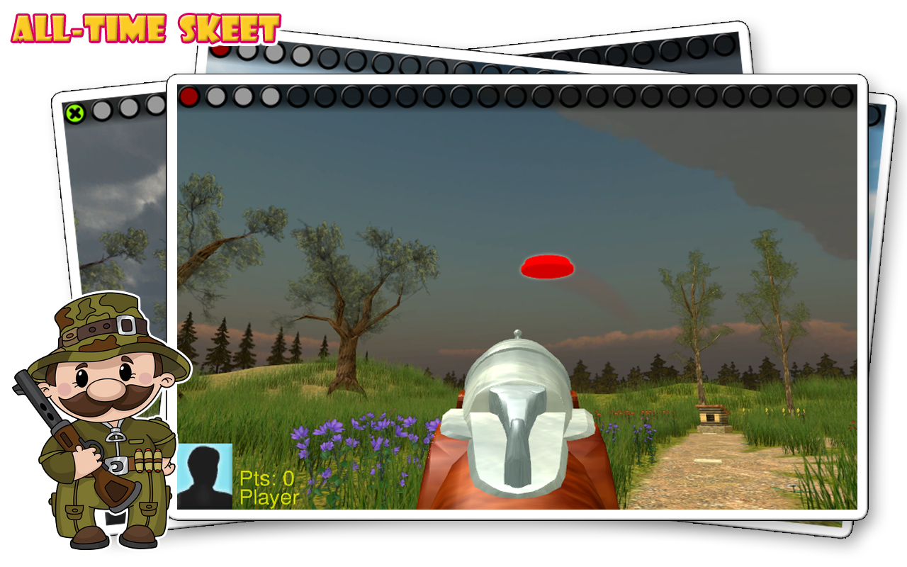 All-Time Skeet – Screenshot