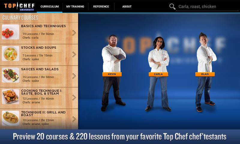 Top Chef University - screenshot