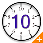 Base 10 clock + (Daydream) icon