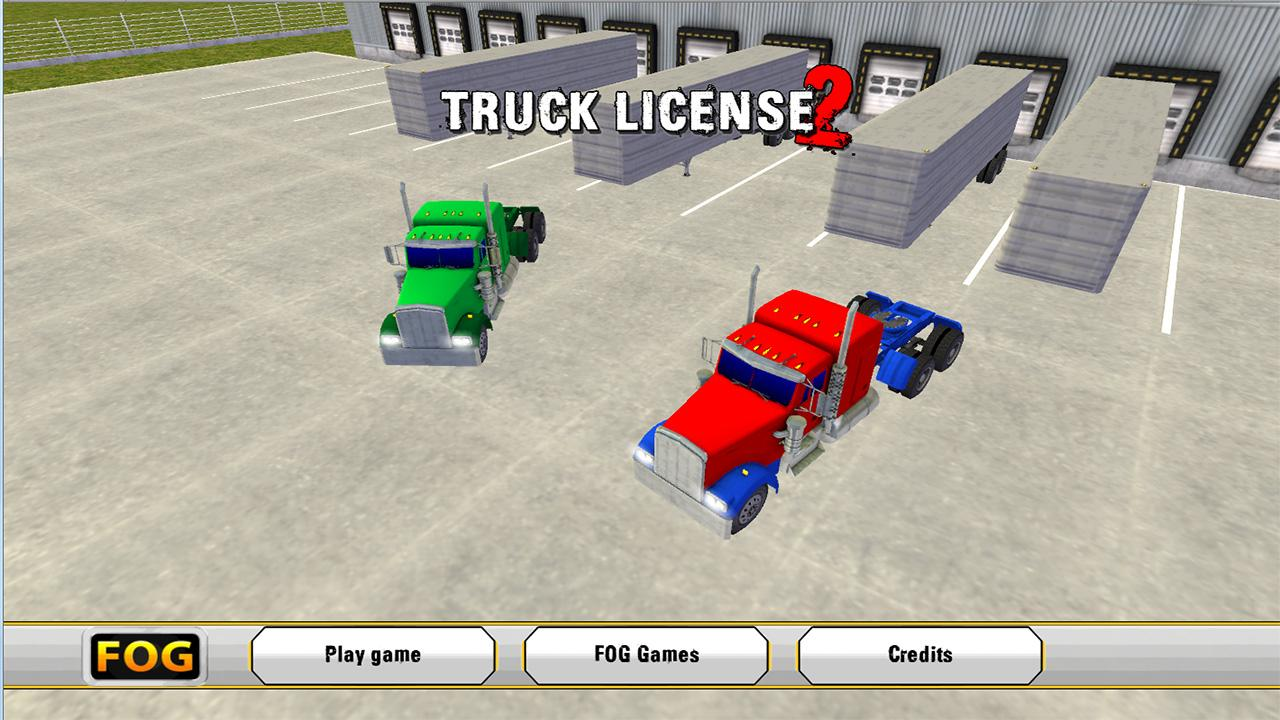 Truck License 2 Lite - screenshot