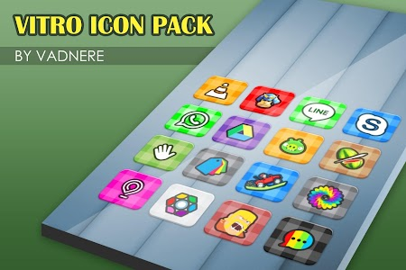 Vitro Flat Icon Pack Theme v1.5.0