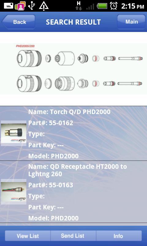 Parts Finder- screenshot