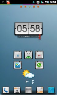 Go Launcher Theme Corkboard- screenshot thumbnail
