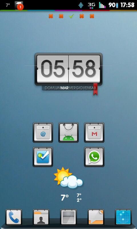 Go Launcher Theme Corkboard- screenshot