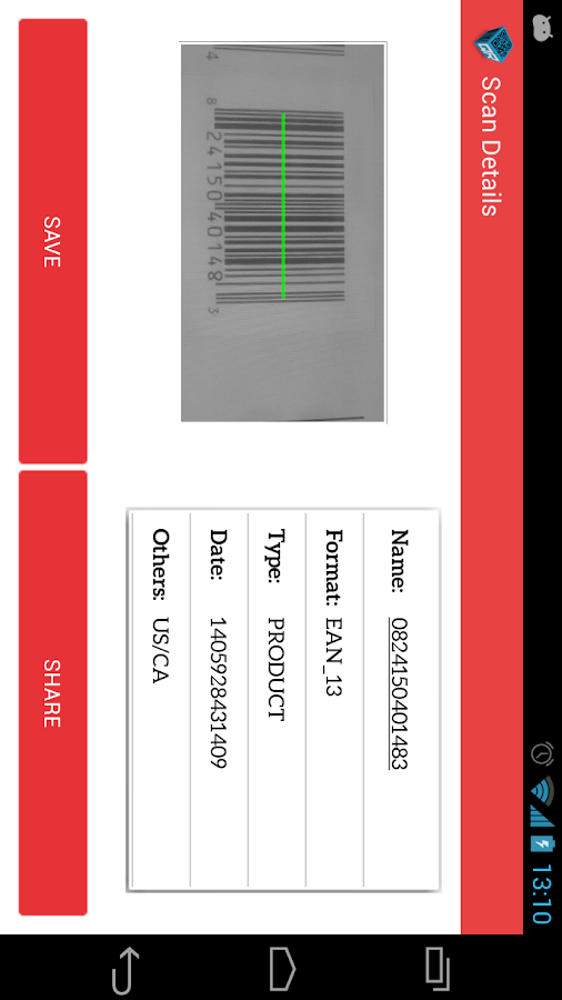 QR Barcode Reader- screenshot