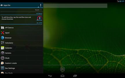 Appsi sidebar Screenshot 1