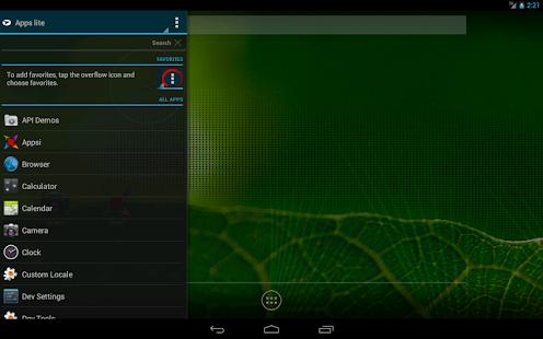 Appsi sidebar Screenshot 9