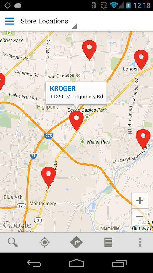 Kroger Co. - screenshot