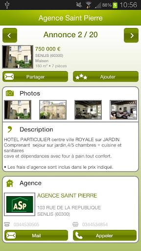 【免費生活App】Agence Saint Pierre-APP點子