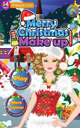 Merry Christmas Make Up