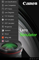 Screenshot of EF Lens Simulator Vietnam