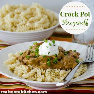 Crock Pot Stroganoff