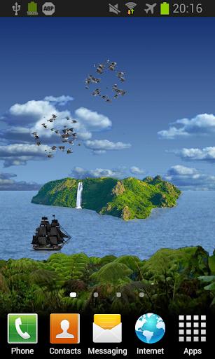 Island HD PRO Live Wallpaper